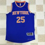 2018 Cheap Online York #25 Derrick Rose Blue Swingman Jerseys UYB2972