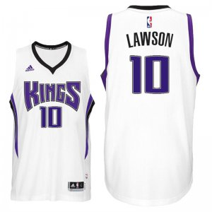 Best Gift Sacramento Kings# Clothing 10 Ty Lawson 2016 17 Home White CVV3539