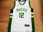 Buy #12 Jabari Merchandise Parker Milwaukee Bucks white FDR2823