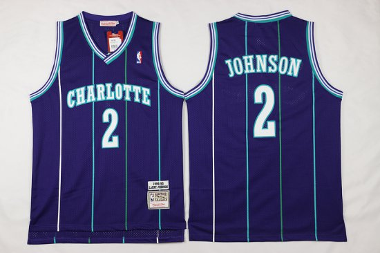 finest selection 7c835 e1553 Cheap And Good Mitchell And Ness Gear Charlotte Hornets #2 ...