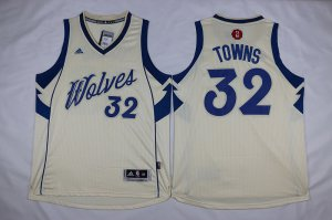 Cheaper Minnesota Timberwolves Karl Anthony Towns Apparel #32 Christmas Day Swingman Stitched TKE1004