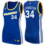 Cheaper Women's 2017 Mother's Day Golden State Warriors #34 Shaun Livingston Crossover Royal Gear Swingman YPO4239