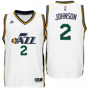 Chic Utah Jazz #2 Joe Johnson 2016 Home Merchandise White Swingman VDM4120
