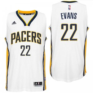 Discount holidays Gear Indiana Pacers #22 Jeremy Evans 2016 Home White Swingman MVL1996