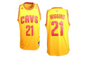 Fast Shipping Jersey Cleveland Cavaliers 21 Andrew Bynum Yellow Revolution 30 SSO1217