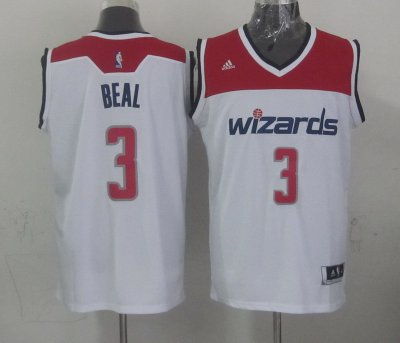 Genuine Jerseys Washington Wizards #3 beal white TSB4206
