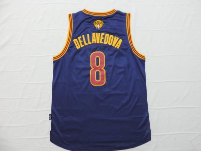 High Quality 2016 Cavaliers Finals #8 Dellavedova Jerseys navy TKQ251