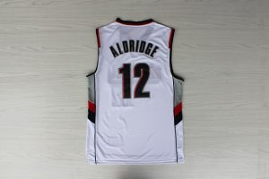Hot Online Portland Trailblazers (RipCity) 12 Aldridge White NBA HIY3481