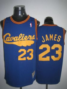 Hot Sale Cleveland Clothing Cavaliers LeBron James #23 Cav Fanatic Swingman FWU1227