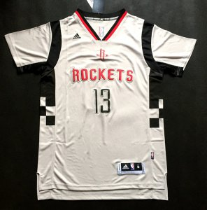 Lowest Price 2015 2016 Houston Rockets 13 James Harden Revolution 30 Swingman Road Gear White NNB1910