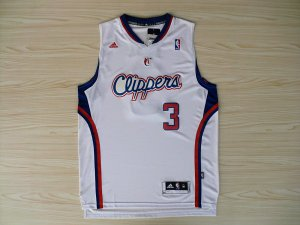 New Style Los Angeles Merchandise Clippers #3 White RIM2308