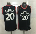 Online Cheap Apparel #20 Caboclo Toronto Raptors black NSB3924