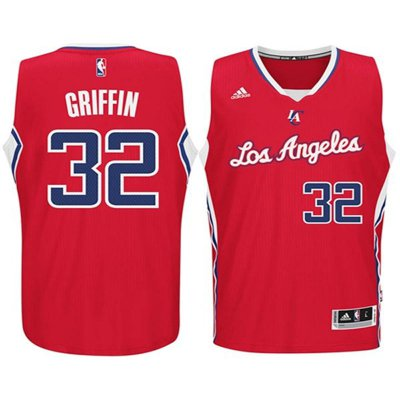 Online sales Youth Los Angeles Clippers #32 Blake Griffin Red Jersey Swingman MBT2037