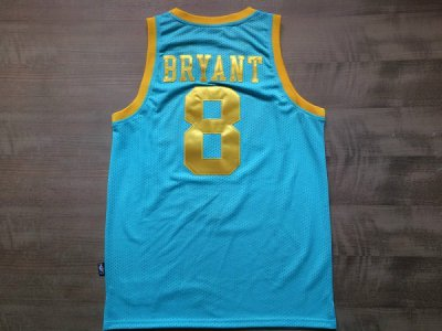 Outlet Los Angeles Lakers #8 Kobe Merchandise Bryant Baby Blue AIL2444