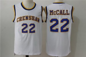 Spring Latest Clothing The Movie Love & Basketball #22 Quincy McCall White Soul Swingman Basketball QEQ1446