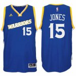 The last product Damian Jones Stretch Crossover Gear #15 Golden State Warriors Royal Swingman WRR1608