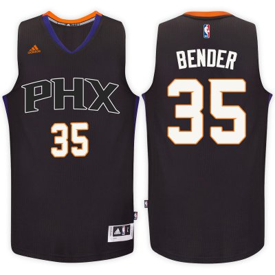 The last product Phoenix Suns #35 Dragan Bender Black Gear Alternate Swingman PFH3308