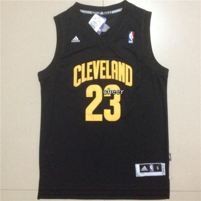 Top Quality Cleveland Cavaliers Clothing #23 James black CTH1176