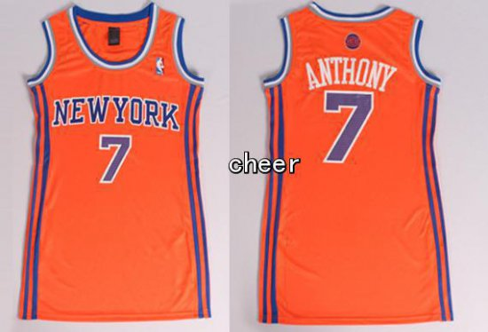 100 Hight Quality York Apparel Knicks 7 Anthony Orange Ydc3007