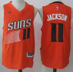 65% Off Suns #11 Josh Jackson Orange Road Stitched Basketball ZVQ3305
