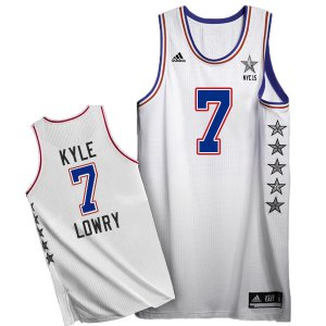 Activities in sales 2015 All Jersey Star NYC Eastern Conference #7 Kyle Lowry White DBC162