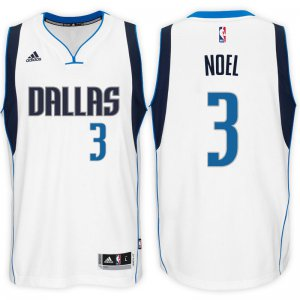 Buy Discount Dallas Mavericks #3 Nerlens Jerseys Noel 2016 17 Home White Swingman MHD1264