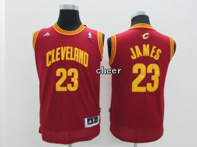 Cheap New Kids Cleveland Cavaliers #23 Jerseys James red FHC2084