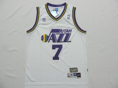 Cheap Online 2018 #7 Pete Maravich Utah Clothing Jazz throwback white DWQ4126