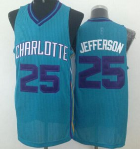 Cheap Online 2018 Revolution 30 Hornets #25 Clothing Al Jefferson Light Blue Stitched YEE648