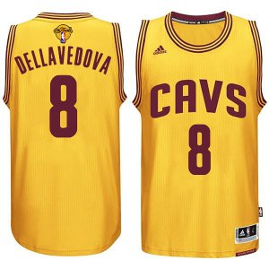 Cheap price Cleveland Cavaliers #8 Matthew NBA Dellavedova 2015 16 Finals Gold QVH295