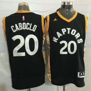 Full of charm #20 CABOCLO Toronto Jersey Raptors black BYU3923