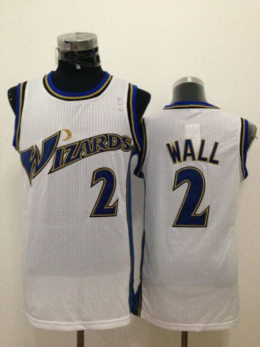 Guarantee Quality Washington Wizards #2 John Jerseys Wall White VFM4213