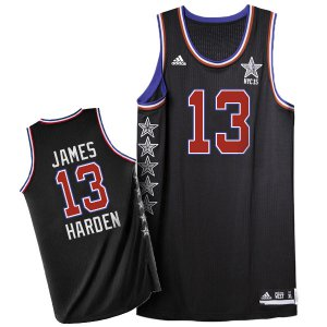Hight Quality 2015 All Star NYC Western Conference #13 James Merchandise Harden Black JRK166