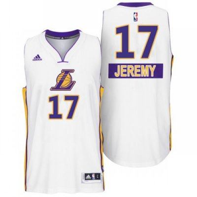 Hight Quality Lakers #17 Jeremy Lin 2014 Christmas Day Clothing ZGQ2448