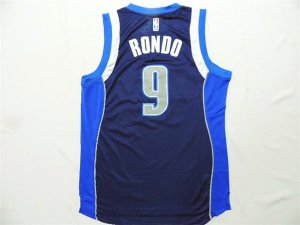 Hot Cheap Dallas Mavericks Gear 9 RONDO blue VIR1311