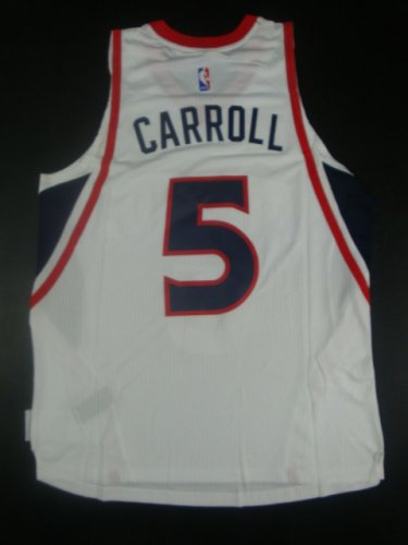New Cheap Atlanta Hawks Jersey #5 Carroll white GDS378