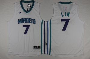 New Cheap Hornets 7 Gear Jeremy Lin Teal Stitched White PXR622