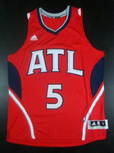 New design Atlanta Hawks NBA #5 Carroll red WNN377