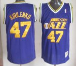 New trend Kirilenko Utah Jazz #47 Apparel purple YBN4157