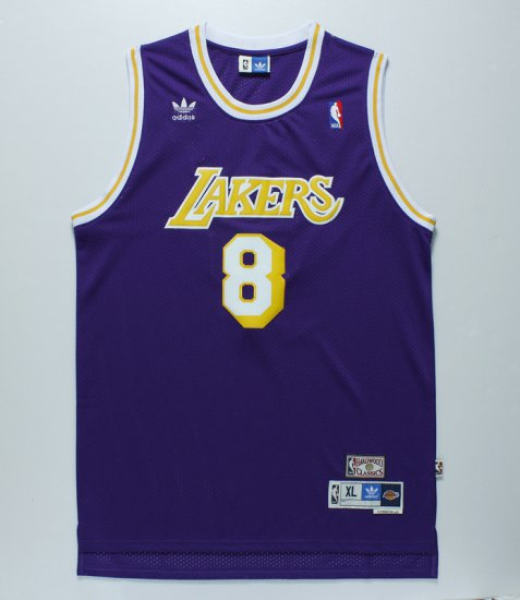 a424eb4c6 Sale Online Los Angeles Lakers  8 Kobe Merchandise Bryant Purple Throwback  BJA2426