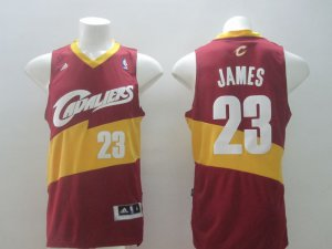 Temperament Cleveland Cavaliers Basketball 23 LeBron James Red FHA1200