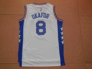 Unique design Philadelphia 76ers #8 Jahlil NBA Okafor White Stitched PJJ3278