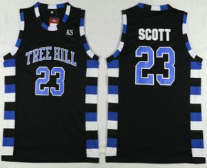 Unique design The Movie One Tree Clothing Hill 23 Nathan Scott Black Swingman Basketball JHH1498
