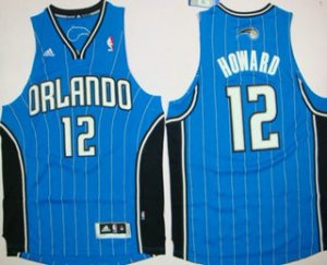 Wholesale Orlando Apparel Magic #12 Dwight Howard Revolution 30 Swingman Blue IXO3178