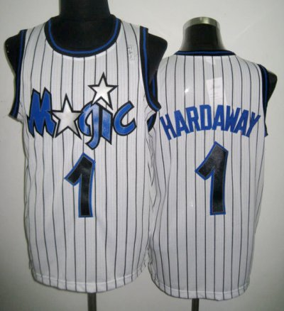 unequaled Orlando Gear Magic Anfernee Penny Hardaway #1 White CGL3190