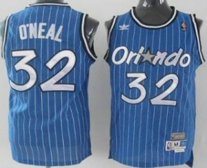 Assorted colors Orlando Magic #32 Shaquille O'neal Blue Hardwood Classics Soul Apparel Swingman Throwback LJD3184