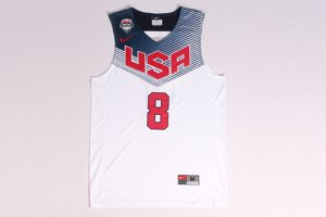 Buy Authentic Jersey Paul George #8 2014 FIBA Basketball white CIZ4080