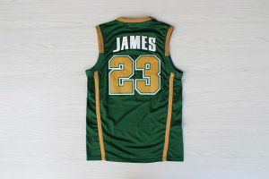 Buy Cheap Online Clothing Lebron James #23 IRISH green RQM1203