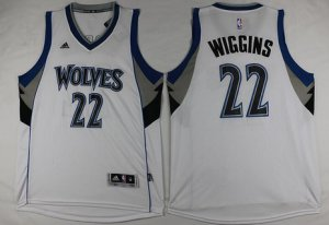 Buy cheap Minnesota Timberwolves #22 Andrew Basketball Wiggins Revolution 30 Swingman White ADX2864