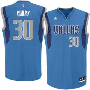 Cheap Buy Online Men's Dallas Mavericks Seth Curry Royal Road NBA Replica WHC1266